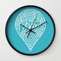 istanbul Wall Clocks featuring istanbul by creaziz