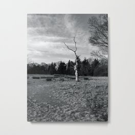 The Haunted Tree Metal Print