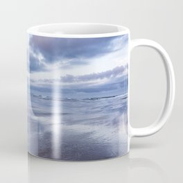 Haystack Rock at Low Tide in Early Morning Coffee Mug