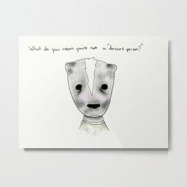 ms skunk Metal Print