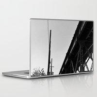 milwaukee Laptop & iPad Skins featuring Milwaukee & Leavitt by Ciara Shook
