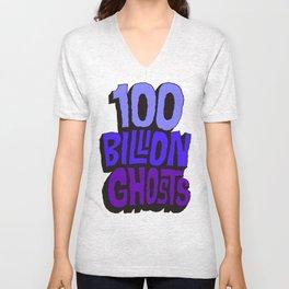 100 Billion Ghosts Unisex V-Neck