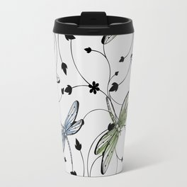 Dragonflies in the garden Travel Mug