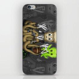 Eduardo Scissor Tentacles iPhone Skin