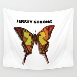 Jersey Strong. Wall Tapestry
