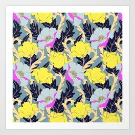 June Yellow Art Print