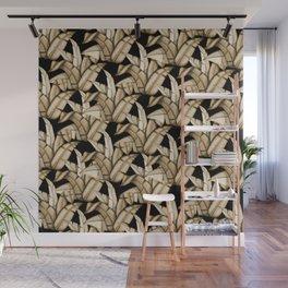 Golden Palms Wall Mural