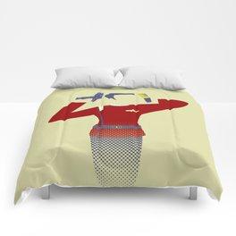 Beam me up Comforters
