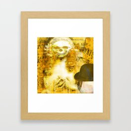 Gwendoline, belle soeur de Monsieur Bone Framed Art Print