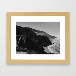 Bixby Creek Bridge - Big Sur, California Framed Art Print