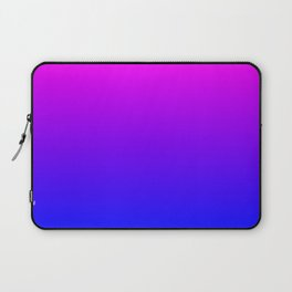 Fuchsia/Violet/Blue Ombre Laptop Sleeve