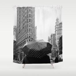 Flatiron Rainy Day II Shower Curtain