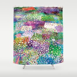 Rainbow Terra Firma Shower Curtain