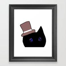 cat-161 Framed Art Print