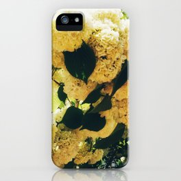 Yellow Snowballs iPhone Case