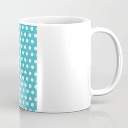 Happy Dot Aqua Coffee Mug
