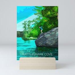 Rattlesnake Cove Mini Art Print