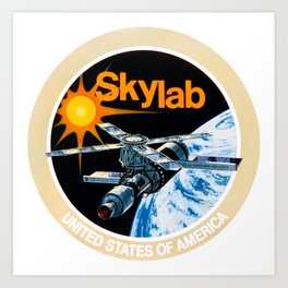Skylab Program Art Print