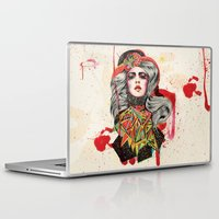 woman Laptop & iPad Skins featuring Woman by Felicia Cirstea