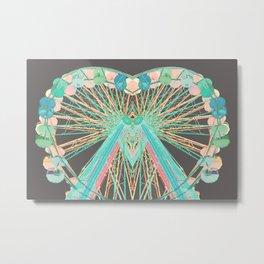 Color-Wheel Love Metal Print