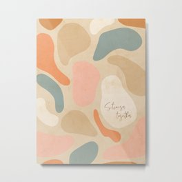 Matisse Pebbles - Stronger together Metal Print