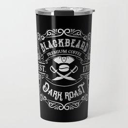 Blackbeard's Dark Roast Premium Pirate Coffee Travel Mug