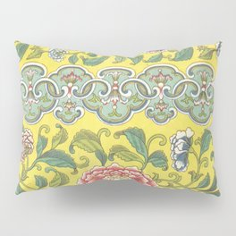 Examples of Chinese Ornament 1867 Pillow Sham