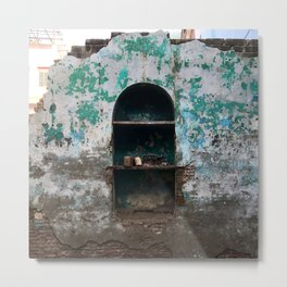 Hole In The Wall Metal Print