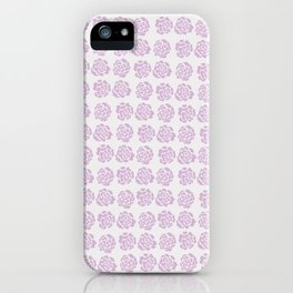 Roses pattern IV iPhone Case