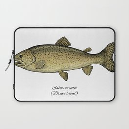Brown trout Laptop Sleeve