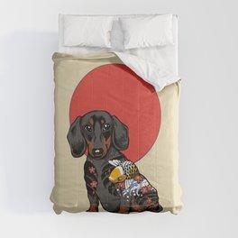 Yakuza Dachshund Comforters