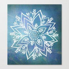 Mandala Mantra Canvas Print