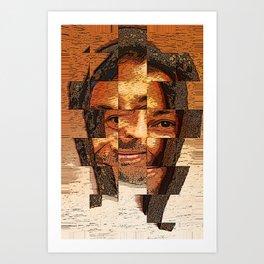 Cubed Art Print