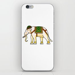 Watercolour Tribal Elephant Clothing Artwork iPhone Skin