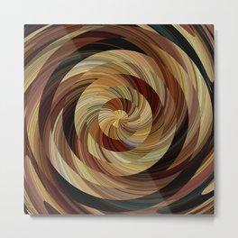 Cinnamon Roll Metal Print