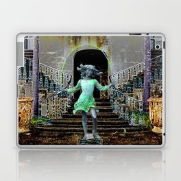 Ghost in a Madeira Mansion. Laptop & iPad Skin