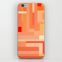 Tangerine Gradient iPhone Skin