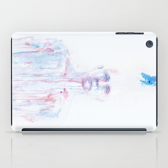 Last Blue Breath iPad Case