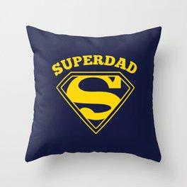 Superdad | Superhero Dad Gift Throw Pillow