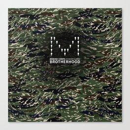 MCHG Brotherhood Camouflage Canvas Print