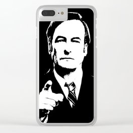 JAMES M. MCGILL Clear iPhone Case