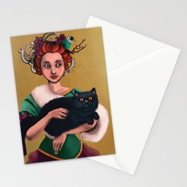 Lady decadence  Stationery Cards