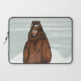 Wilder Mann - The Bear Laptop Sleeve