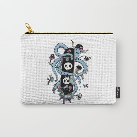 Octopus Skate Color Carry-All Pouch