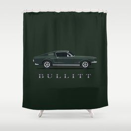 Bullitt Shower Curtain