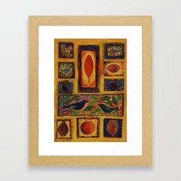 Autumn Days Framed Art Print