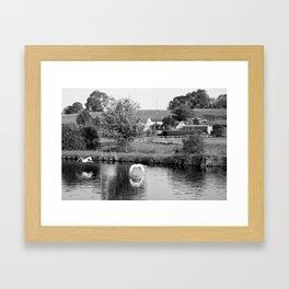 Purton Fly By Framed Art Print