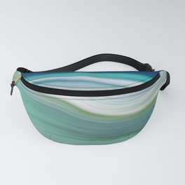 OCEAN ABSTRACT Fanny Pack
