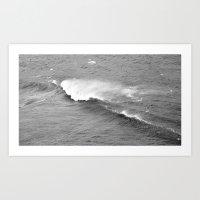 Retro wave Art Print