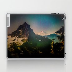 Mountains and Forest - Mt. Hood Mountain from Mt. Rainier Laptop & iPad Skin